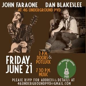 flyer for John and Dan